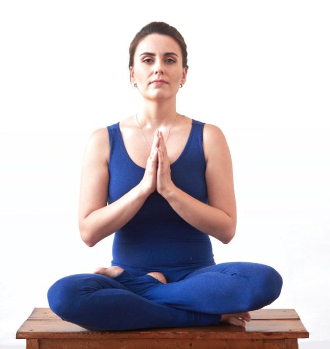 ОЛьга Гельфанд, инструктор по йоге